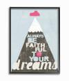 Faith Mountain Framed Giclee Texturized Art