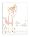 Foxy & Clever Wall Plaque Art