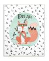 Sleepytime Fox Wall Plaque Art