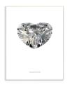 Diamond Heart 10x15 Wall Plaque
