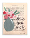 Painterly Love 13x19 Wall Plaque