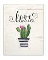 Cactus Love 13x19 Wall Plaque
