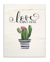 Cactus Love 10x15 Wall Plaque