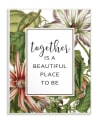 Beautiful Flowers Together 10x15 Wall Plaque