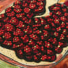 Leaves and Pomegranates Square Pillow Cover