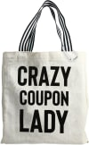 Coupon Lady - 100% Cotton Twill Gift Bag
