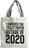 Toilet Paper  - 100% Cotton Twill Gift Bag