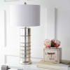 Resin LED Table Lamp, Silver