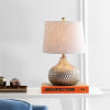 Honeycomb LED Table Lamp, Antique Brown
