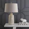 Ceramic LED Table Lamp, Cream