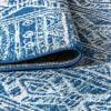 Moroccan HYPE Boho Vintage Tribal Blue/Gray 5' x 8' Area Rug