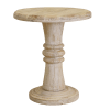 Distressed Finish Jorf End Table