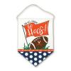 Virginia Canvas Football Door Hanger