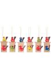 Dregeno Assorted Birds With Bird Houses Ornaments
