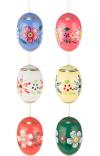 Dregeno Easter Eggs Set of 6 Easter Ornament