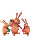 Dregeno Rabbit Family Easter Figures