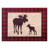 Kids Northwoods Moose Canvas Wall Art