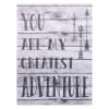 Kids My Greatest Adventure Canvas Wall Art
