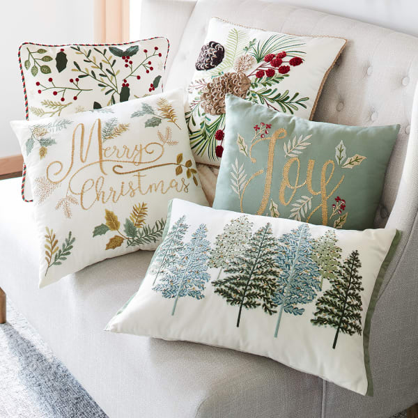Pinecones & Branches Pillow