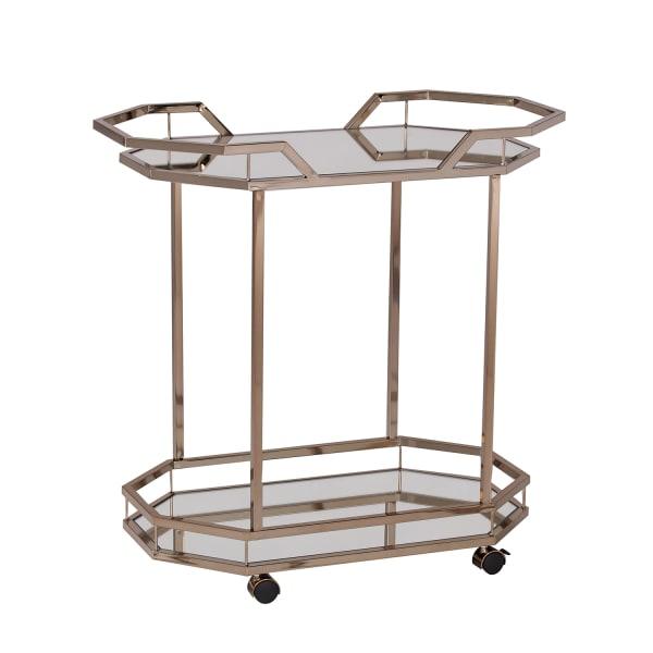 Ansel Art Deco Bar Cart