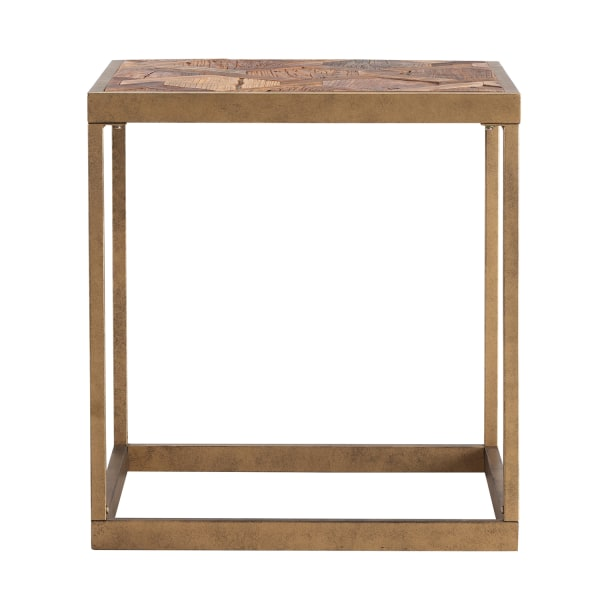 Leon Reclaimed Wood End Table