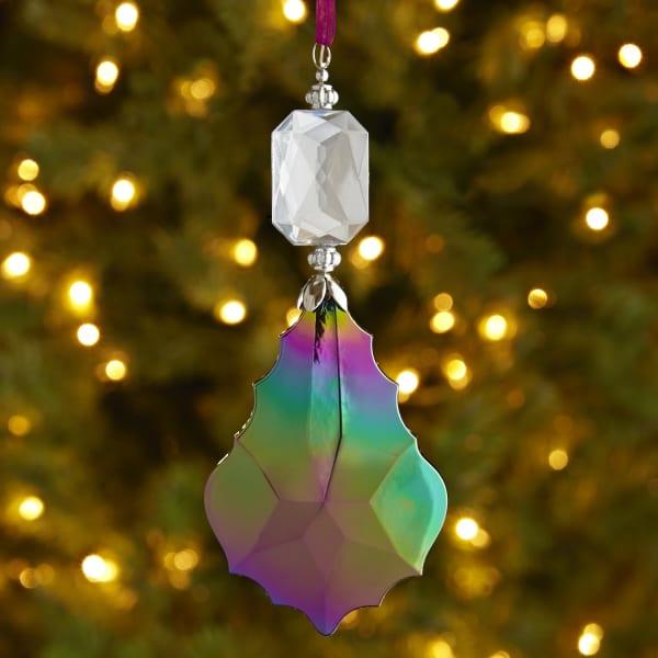 Iridescent Drop Ornament