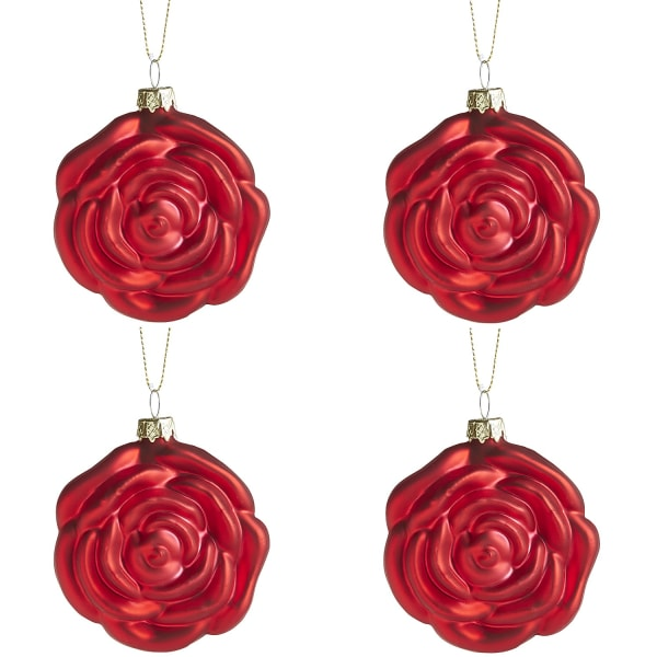 Rose Ornament Set