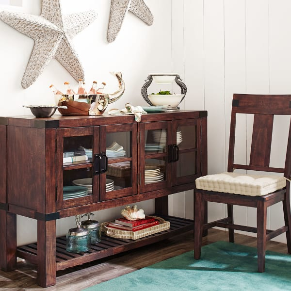 Eastwood Tobacco Brown Buffet Table