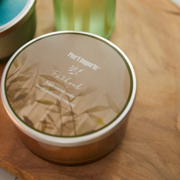 Patchouli Filled 3-Wick Candle