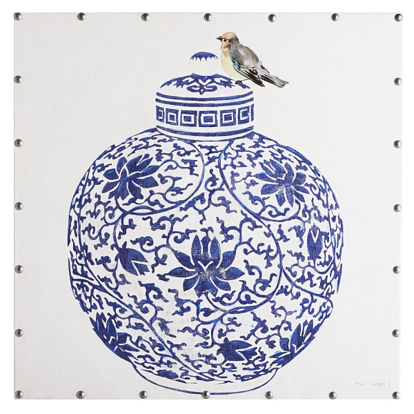 Chinoiserie-Inspired Art