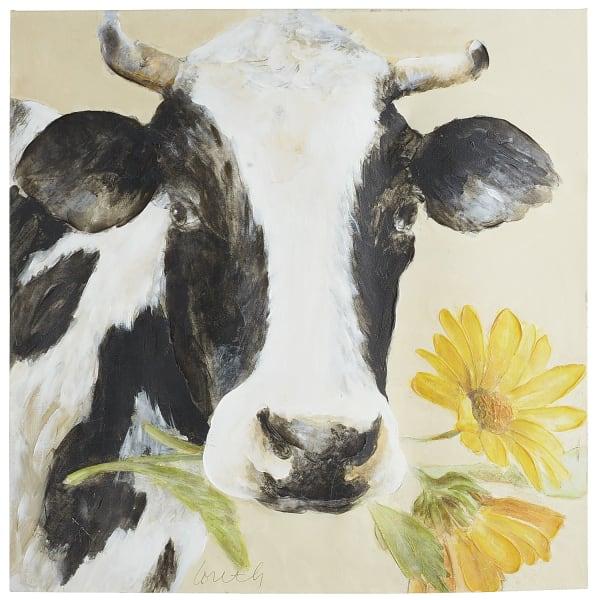 Caroline the Cow Art