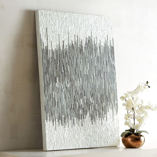 Shimmer Mosaic Abstract Wall Panel