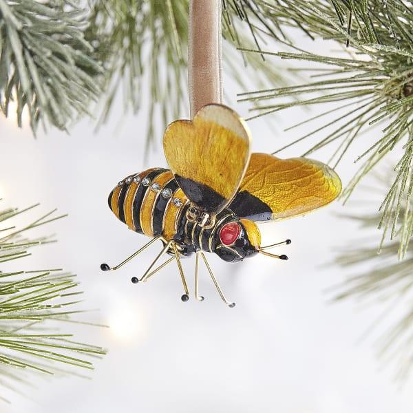 Cloisonne Bee Ornament
