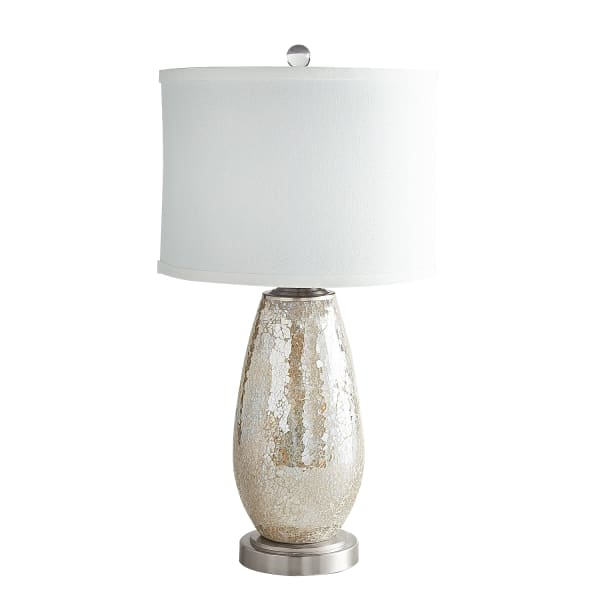 Elena Crackle Mosaic Table Lamp