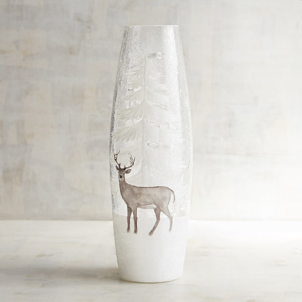 Snowy Stag Twinkle Light