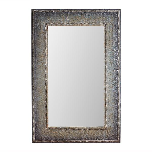 Gray Mosaic 32x48 Mirror