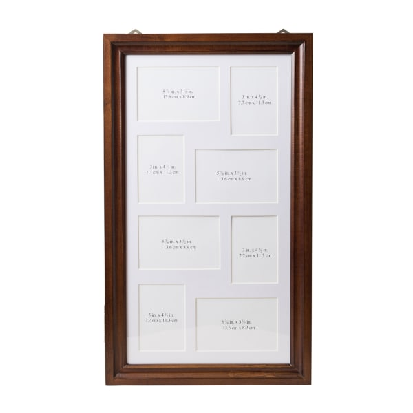 Photo Collage Brown Jewelry Frame