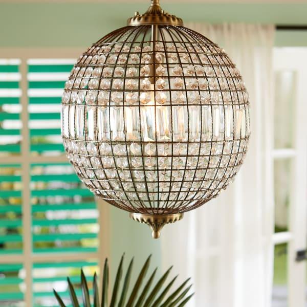 Crystal Sphere Pendant