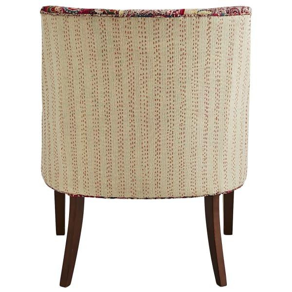 Adriel Chair - Kantha Paisley Berry