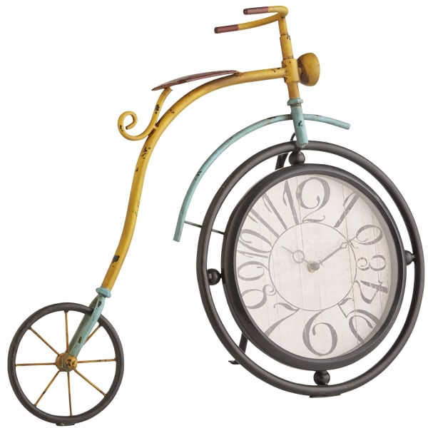 Colorful Bicycle Clock