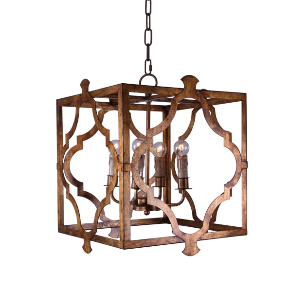 Dade Metal Square & Geometric Chandelier