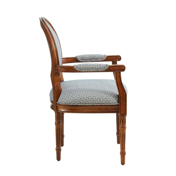 Belle Blue Accent Chair