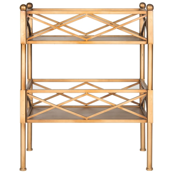 Oriolo Gold Storage Shelves