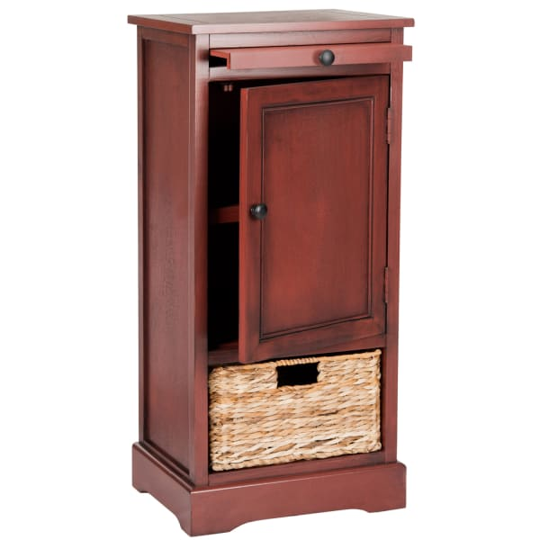 Jason Tall Cherry Storage Cabinet