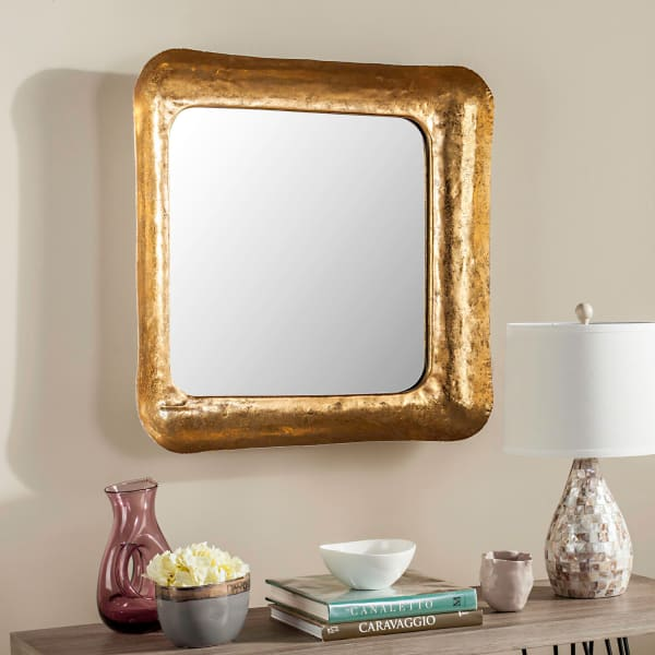 Monique Gold Iron & Glass Mirror