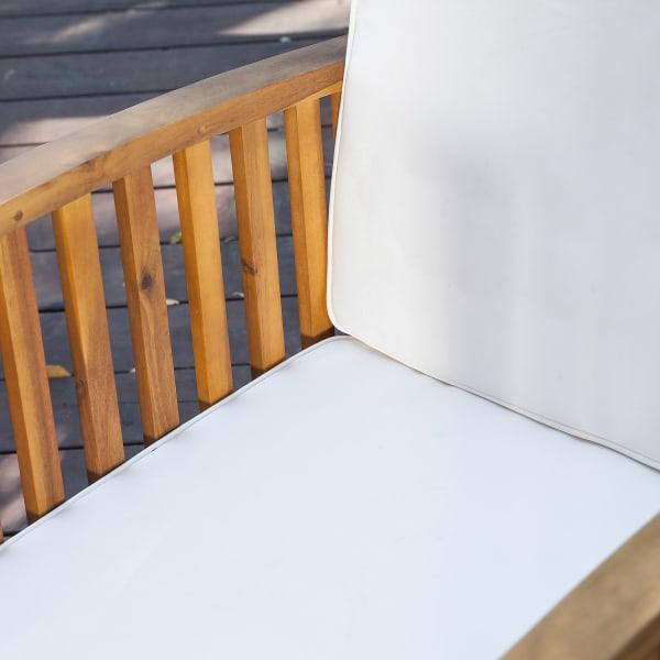 Hawthorne 4-Piece Outdoor Acacia Sofa Set