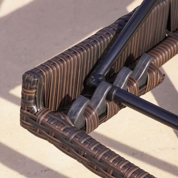 Maui Textilene Chaise Lounger & Table 3-Piece Set