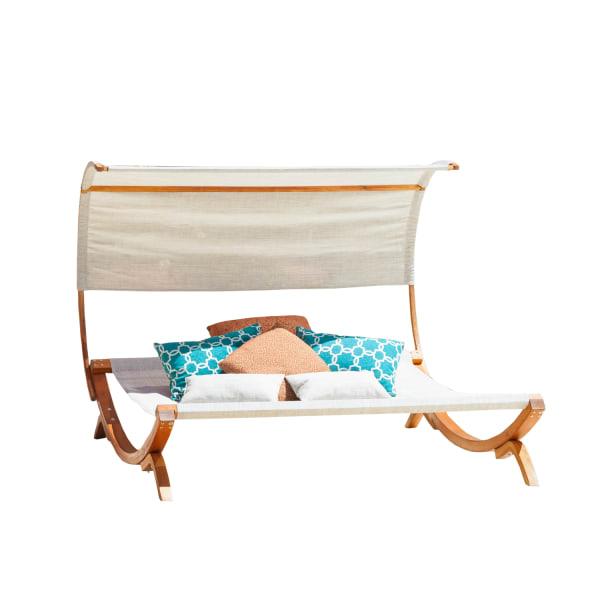 Pergola Sunbed with Canopy