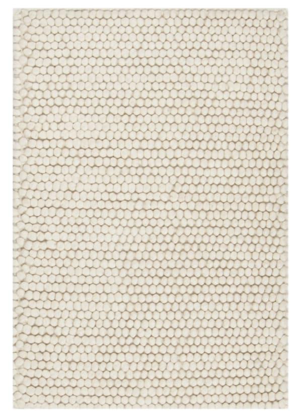 Chipley 620 2' X 3' Ivory Wool Rug