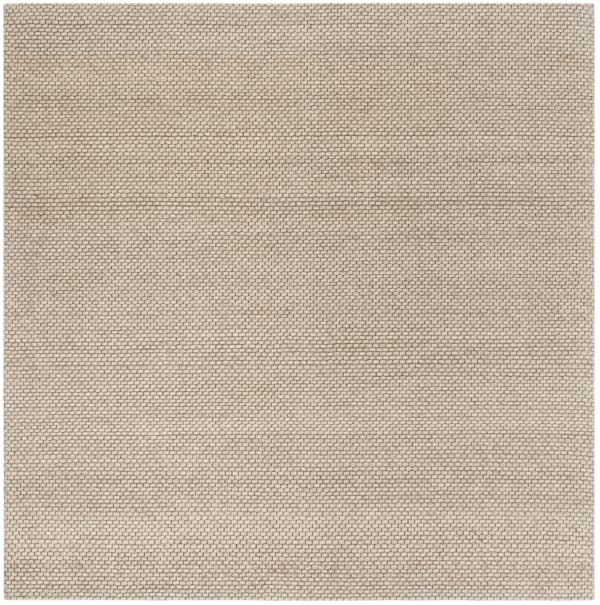 Chipley 801 6' X 6' Square Tan Wool Rug